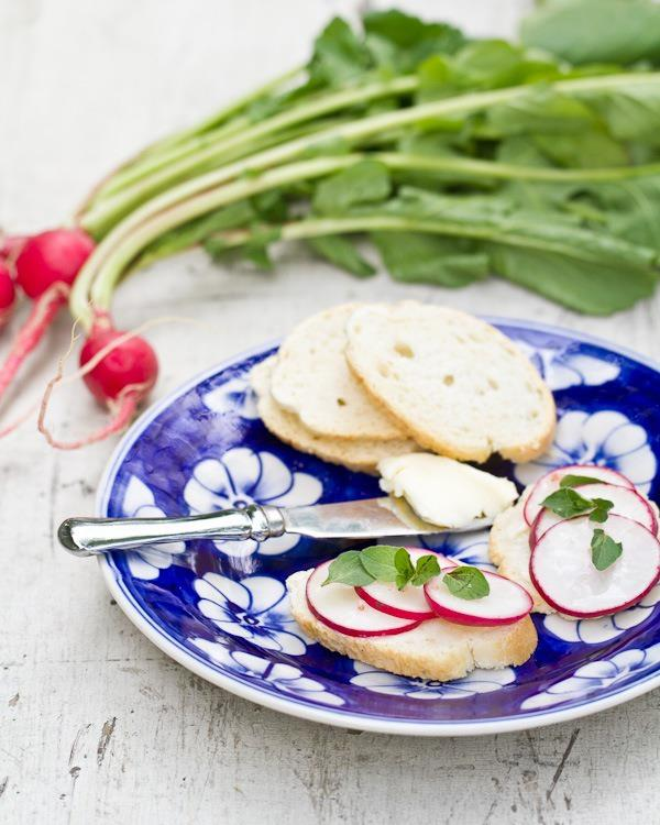 radish and butter