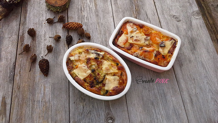 broccoli and sweet potato gratin