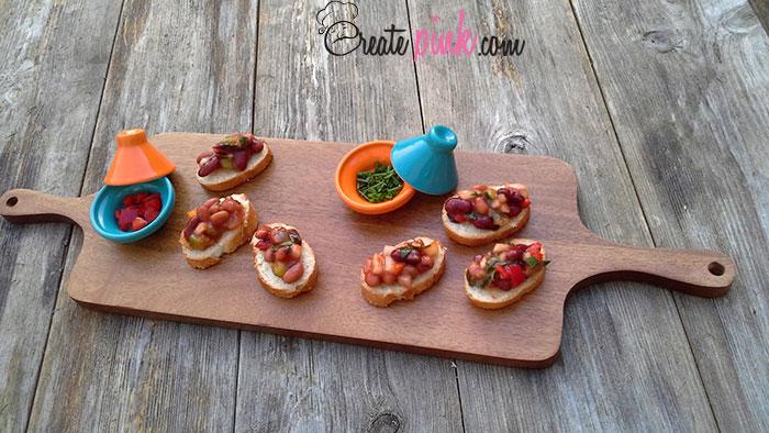Easy recipe: Spicy cannellini beans bruschetta with Italian bread