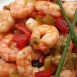 Easy shrimp recipe with garlic and chilli