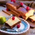 Easy lemon yogurt cake with Limoncello syrup